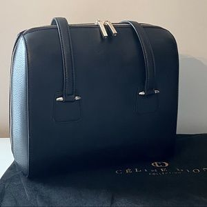 Celine Dion Triad Leather Tote